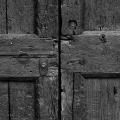 Old Wooden Double Doors 1