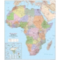 Physical and Political Map of Africa ll