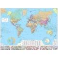 World Map Spanish