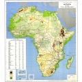 Physical and Political Map of Africa l