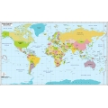 World Map Countries and Capitals