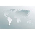 World Map Grayscale