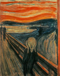 Edvard Munch The Scream workart classic