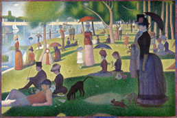 georges seurat a sunday on la grande jatte sunday afternoon workart classic