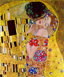 gustav klimt the kiss detail part of workart classic collection