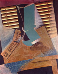 Juan Gris The Sunblind workart classic