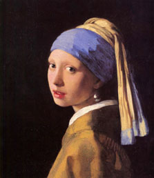 Vermeer girl with the pearl earring workart classic
