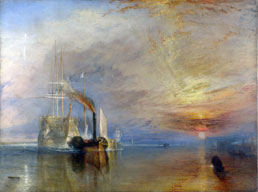 william turner the fighting temeraire workart classic